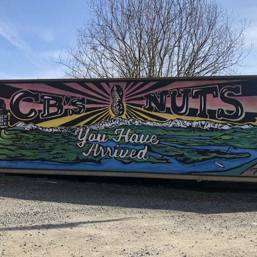 CB's Nuts: You Have Arrived Mural