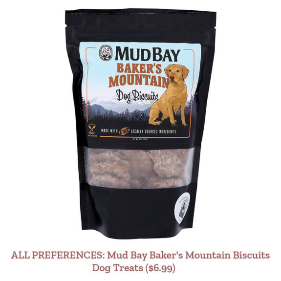 ALL PREFERENCES: Mud Bay Baker's Mountain Biscuits Dog TreatS ($6.99)