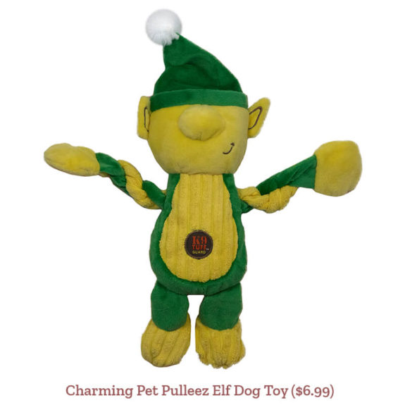 Charming Pet Pulleez Elf Dog Toy ($6.99)