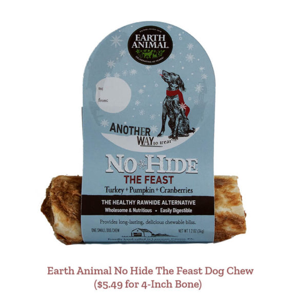 Earth Animal No Hide The Feast Dog Chew ($5.49 for 4-Inch Bone)