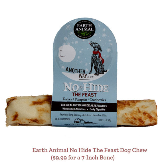 Earth Animal No Hide The Feast Dog Chew ($9.99 for a 7-Inch Bone)