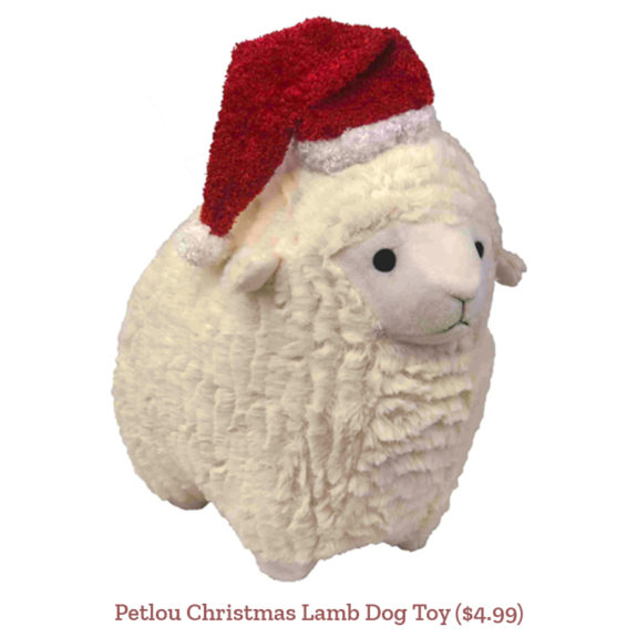 Petlou Christmas Lamb Dog Toy ($4.99)