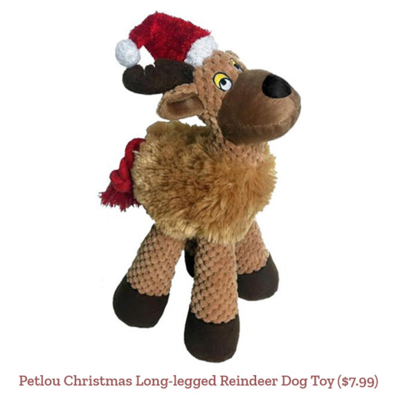 Petlou Christmas Long-legged Reindeer Dog Toy ($7.99)