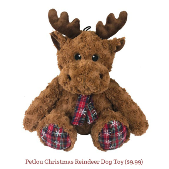 Petlou Christmas Reindeer Dog Toy ($9.99)