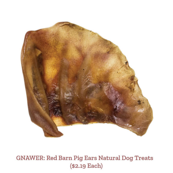 GNAWER: Red Barn Pig Ears Natural Dog Treats ($2.19 Each)