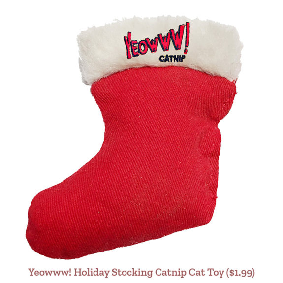 Yeowww! Holiday Stocking Catnip Cat Toy ($1.99)