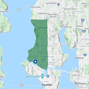 Click to See Seattle Delivery Area