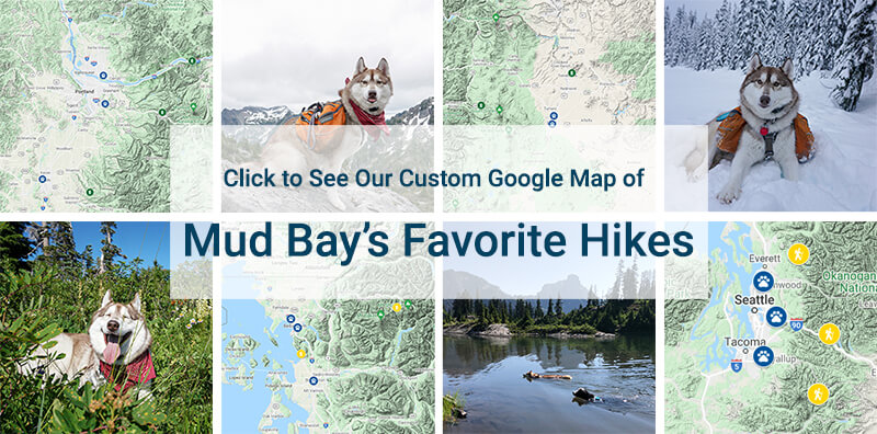 Click to See Map of Mud Bay's Favorite Hikes