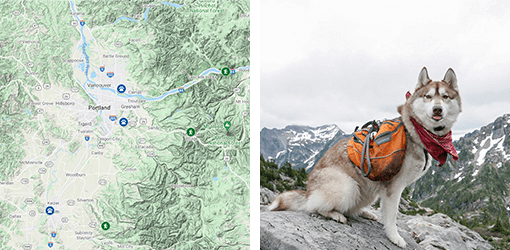 Click to See Hiking Map