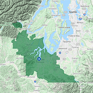 Click to See Thurston County Delivery Area